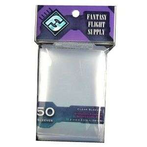 Sleeves Transparents 59 x 92MM 50P