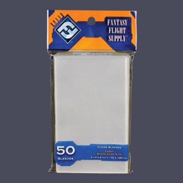 Sleeves Transparents 70 x 120MM 50P