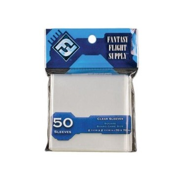 Sleeves Transparents 70 x 70MM 50P