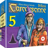 Carcassonne - Mini 5 - Magiciens & Sorcières
