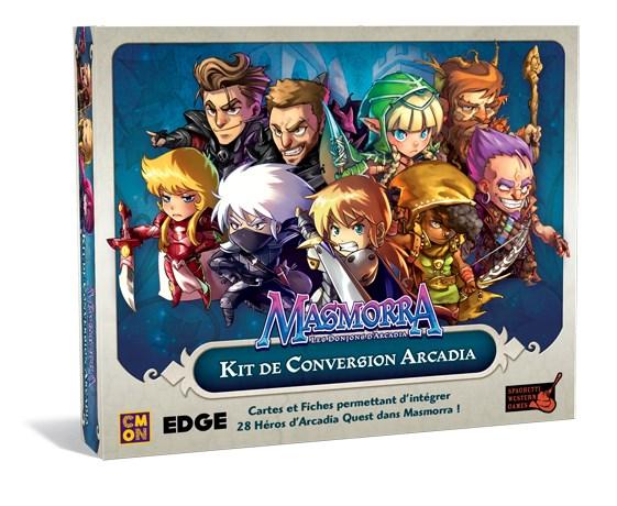 Masmorra - Kit de Conversion Arcadia