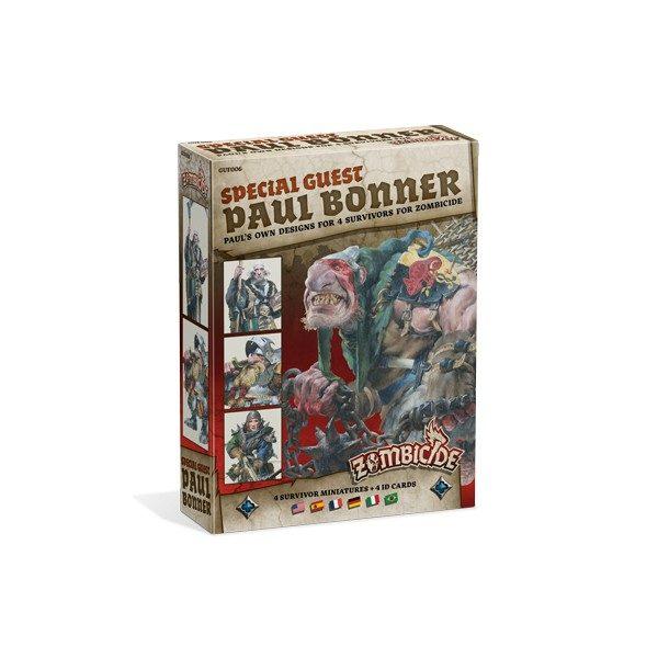 Zombicide Black Plague - Spécial Guest Paul Bonner